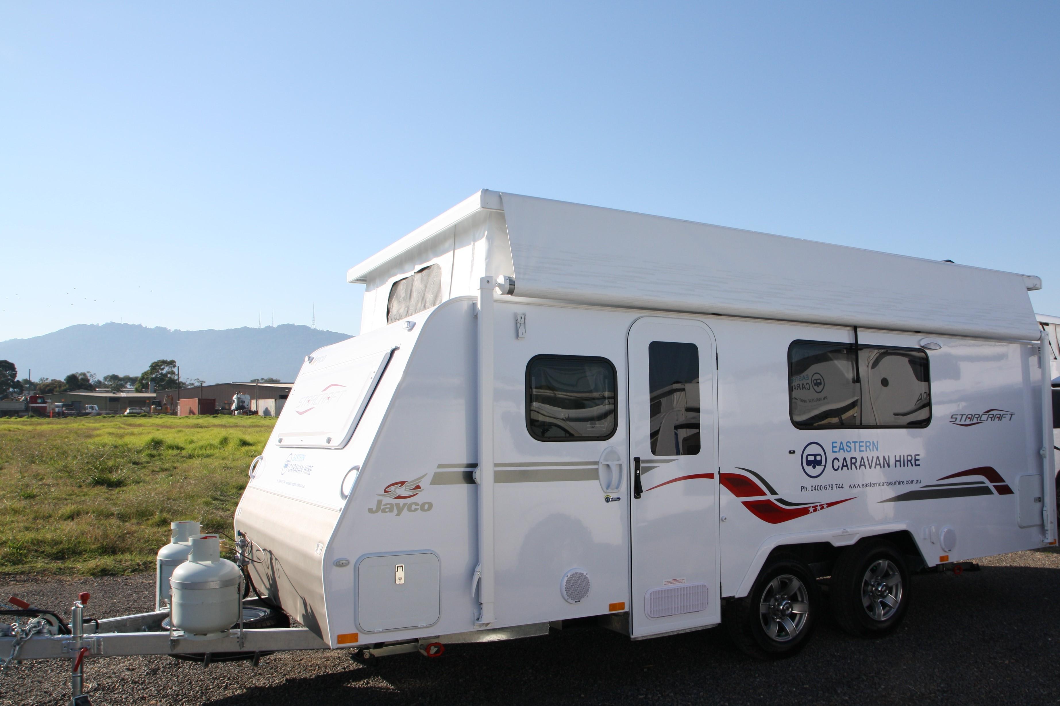 Jayco Starcraft Poptop 17 58 3 Eastern Caravans