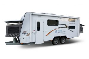Eastern Caravan Hire Jayco expanda van setup