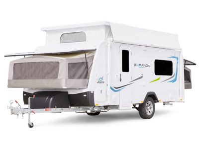 Eastern Caravan Hire Jayco expanda poptop family fun