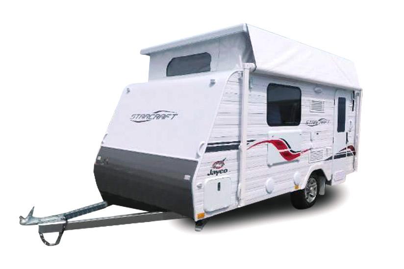 Eastern Caravan Hire Jayco starcraft poptop quality