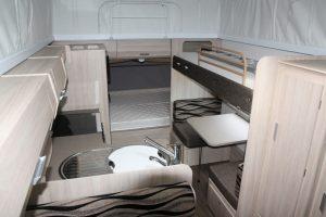 Eastern Caravan Hire Jayco Expanda Poptop Interior