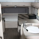 Eastern Caravan Hire Jayco Expanda Poptop Interior kitchen