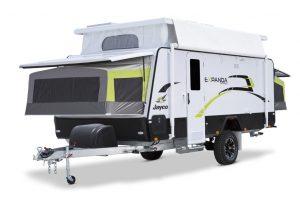Eastern Caravan Hire Jayco Expanda Poptop hero image exterior