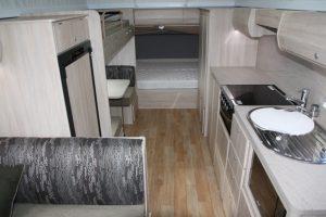 Eastern Caravan Hire Jayco Expanda Poptop Interior Image 1