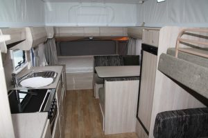 Eastern Caravan Hire Jayco Expanda Poptop Interior Image 2
