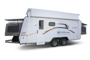 Eastern Caravan Hire Jayco expanda poptop holiday family