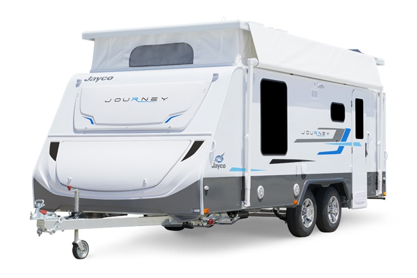 Eastern Caravan Hire Jayco Journey Poptop