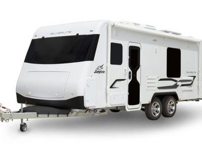 Eastern Caravan Hire Jayco silverline caravan exterior
