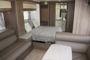 Eastern Caravan Hire Jayco silverline caravan kitchen