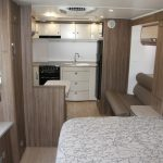 Eastern Caravan Hire Jayco silverline caravan inside