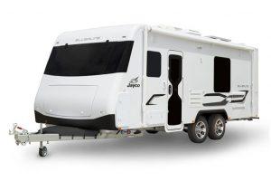 Eastern Caravan Hire Jayco silverline caravan external image