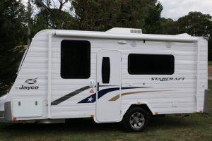Eastern Caravan Hire Jayco starcraft caravan