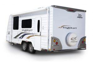 Eastern Caravan Hire Jayco starcraft caravan external