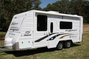 Eastern Caravan Hire Jayco starcraft caravan for rent