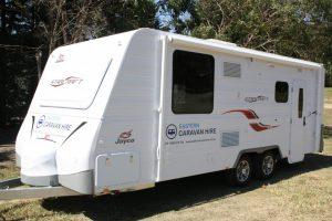 Eastern Caravan Hire Jayco starcraft caravan family