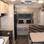 Eastern Caravan Hire Jayco starcraft caravan inside kitchen