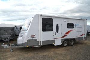 Eastern Caravan Hire Jayco starcraft large holiday van