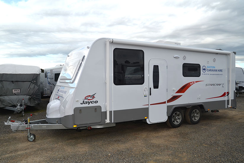 Eastern Caravan Hire Jayco starcraft large holiday van