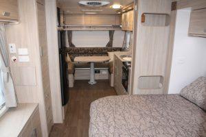 Eastern Caravan Hire Jayco starcraft caravan internal image 1