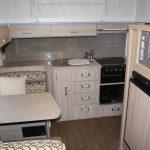 Eastern Caravan Hire Jayco starcraft poptop kitchen