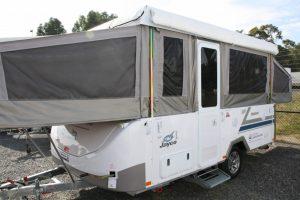 Eastern Caravan Hire Jayco swan camper