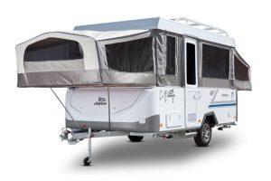 Eastern Caravan Hire Jayco swan camper external