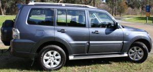 Eastern Caravan Hire Tow Vehicle Mitsubishi