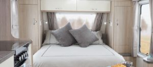 Easter Caravan Hire Bed