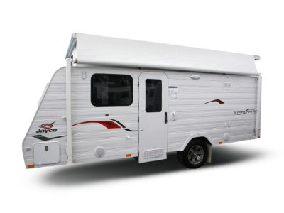 Eastern Caravan Hire Jayco poptop starcraft with roof up