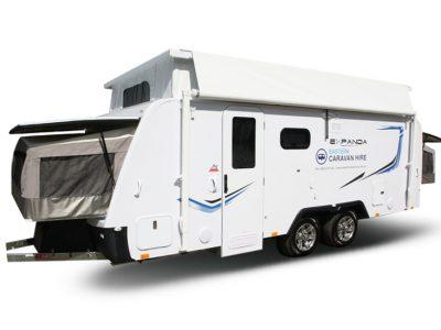 Eastern Caravan Hire Jayco poptop expanda van