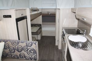 Eastern Caravan Hire Jayco expanda poptop wardrobe