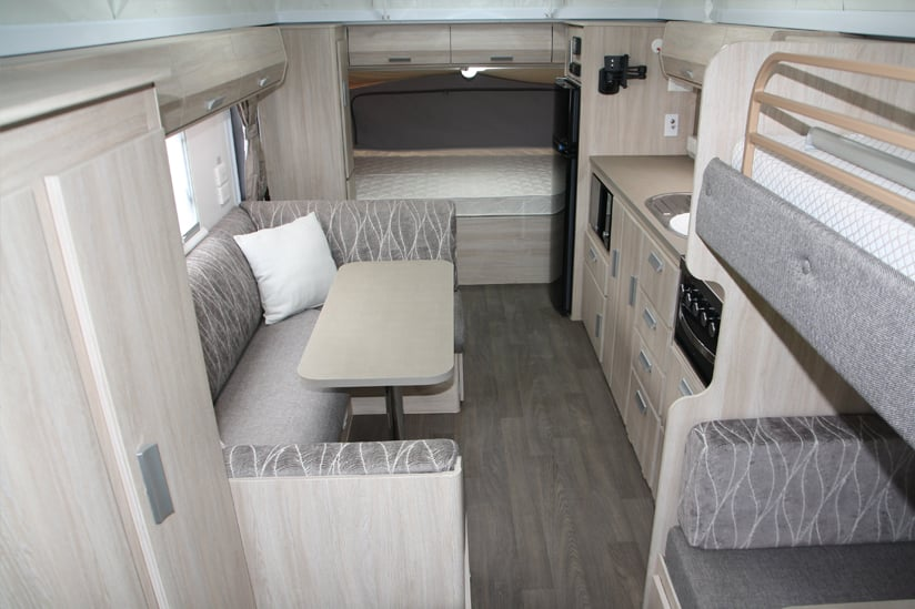 Eastern Caravan Hire Jayco Expanda poptop kitchen large