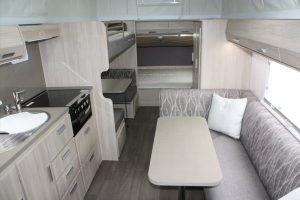 Eastern Caravan Hire Jayco expanda poptop kitchen seats