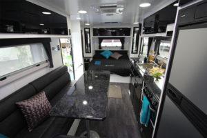 Eastern Caravan Hire paramount interior large family