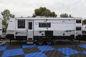 Eastern Caravan Hire paramount external luxury