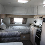 Eastern Caravan Hire starcraft popup fully equiped kitchen