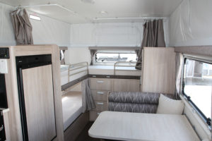 Eastern Caravan Hire starcraft internal beds